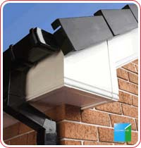 white upvc fascia and soffits
